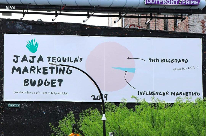 jaja tequila billboard