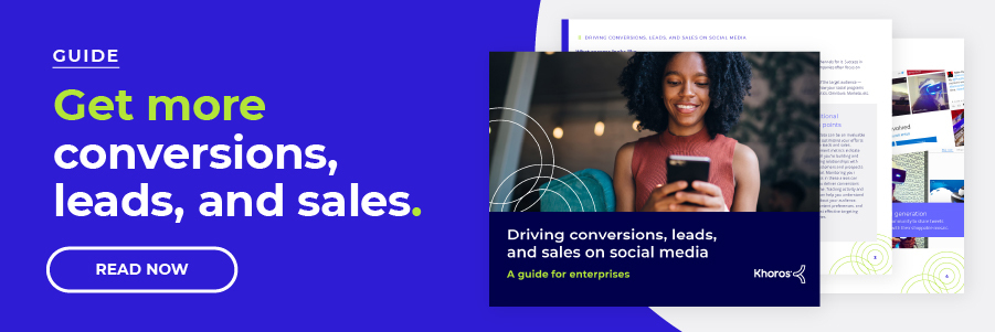 Driving conversions, leads, and sales