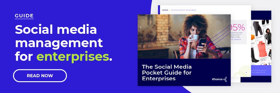 MARKETING BANNER Social Media Pocket Guide for Enterprises