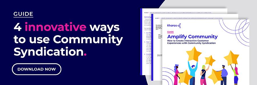 4 ways to use Community Syndication | Khoros