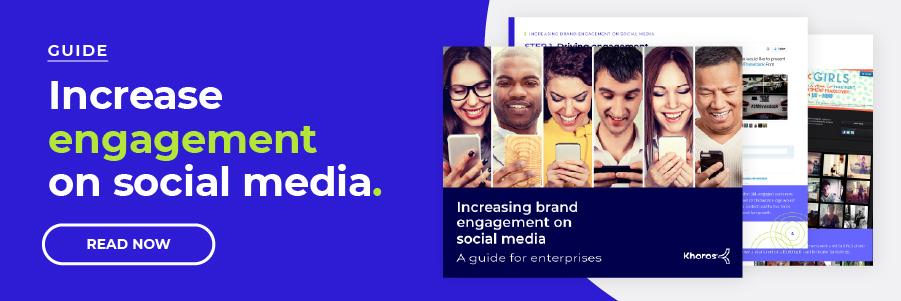 Increasing engagement on social media