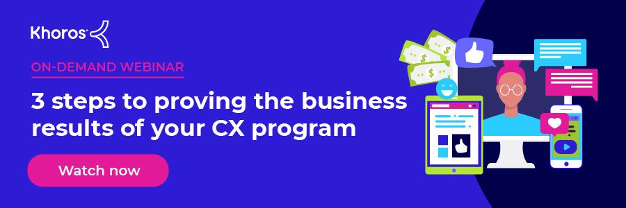 Why CX Programs Struggle On-Demand Webinar Blog Banner