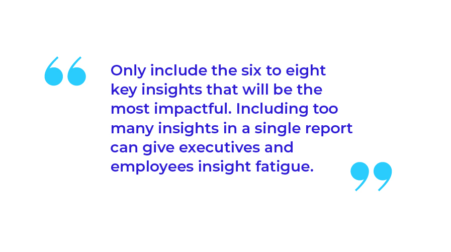 6 to 8 Key Insights