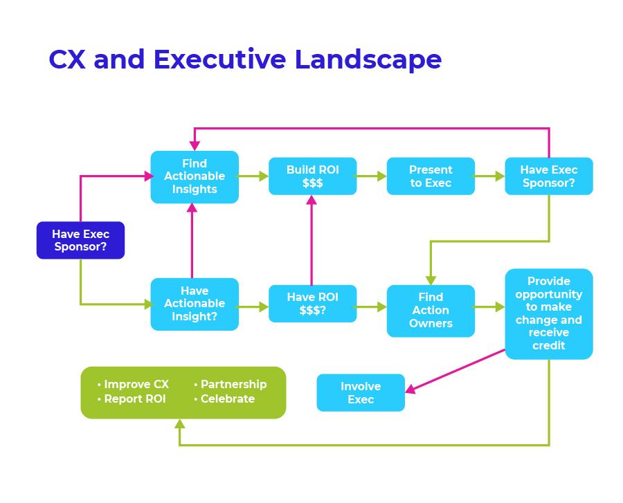 CX and Executive Landscape Flow