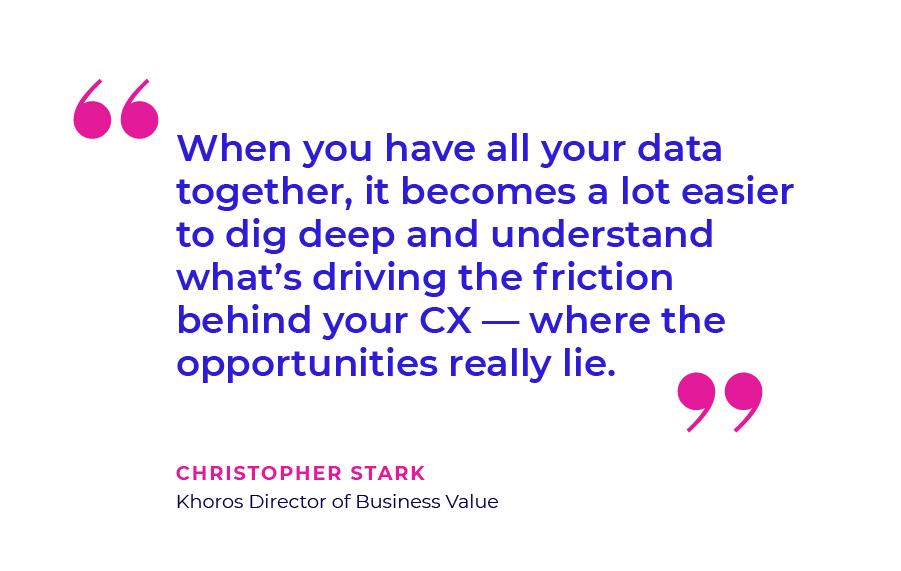 Christopher Stark Quote - CX Data