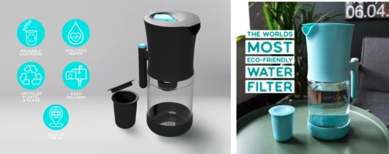 Eco-friendly water filter