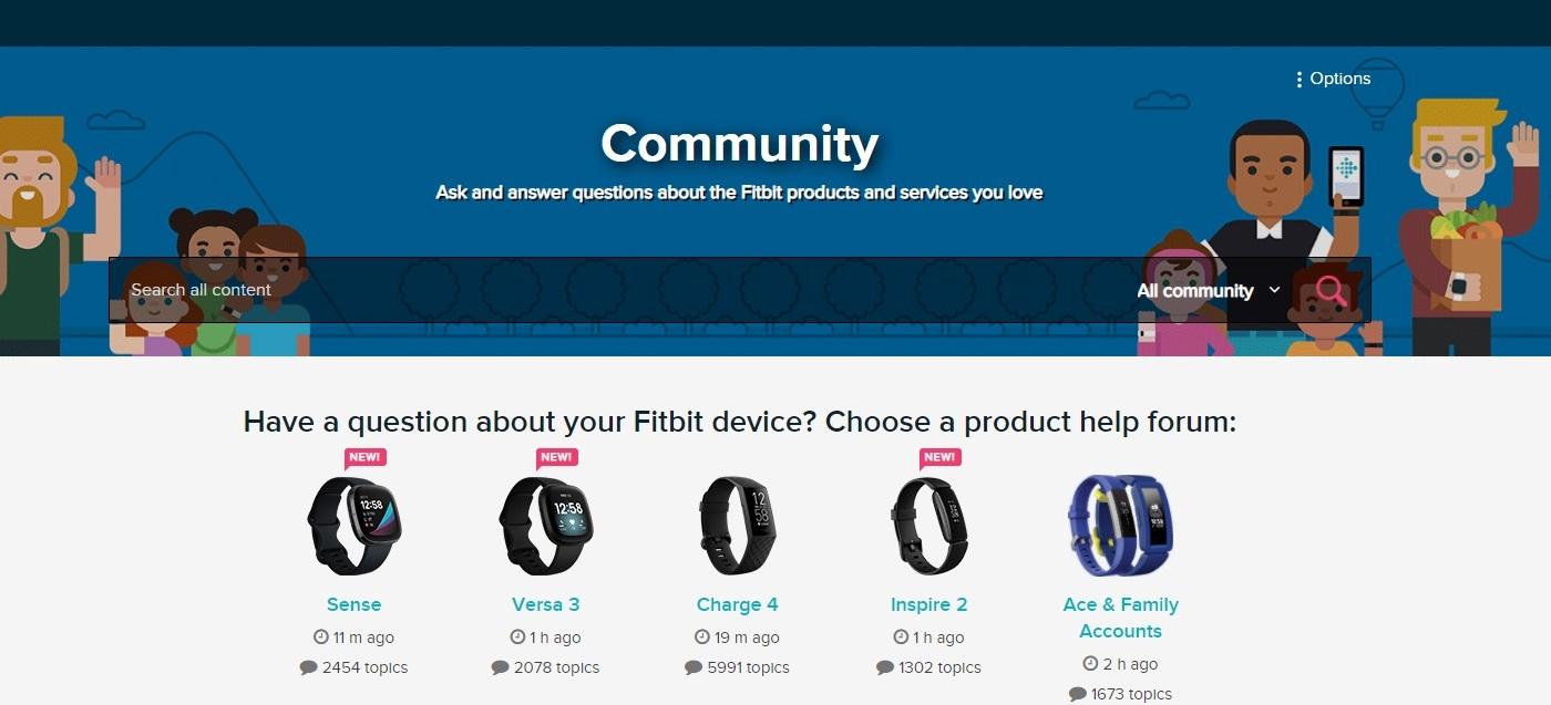 Fitbit online community showcase
