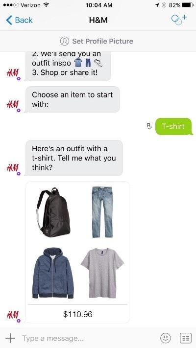 H&M Kik bot 3