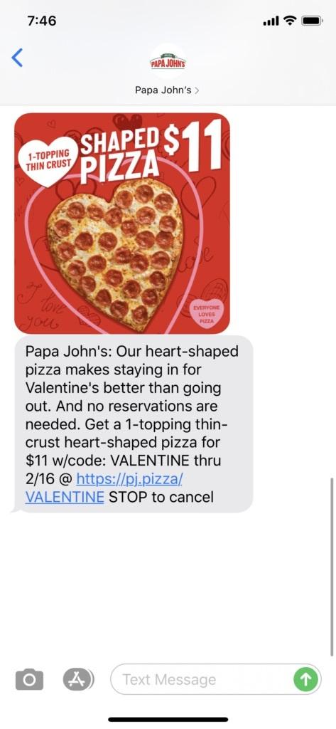 SMS Archives Papa John's