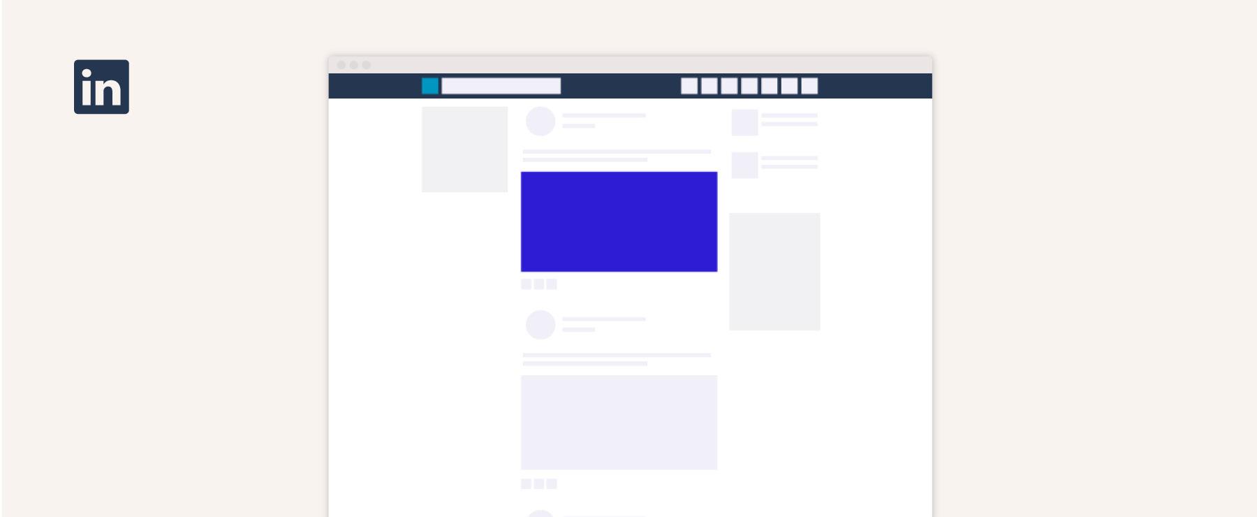 Linkedin blog post link image size guide