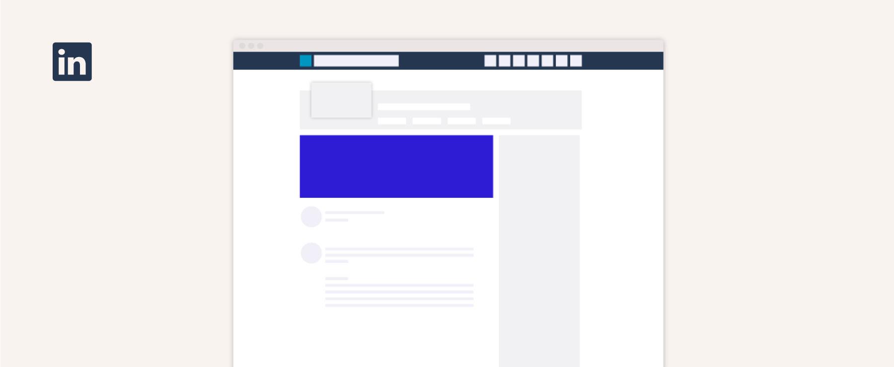 Linkedin hero image size guide