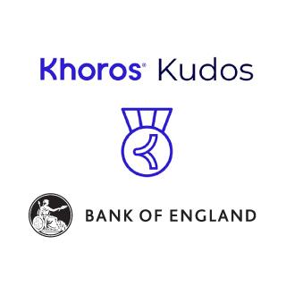 Kudos Bank of England