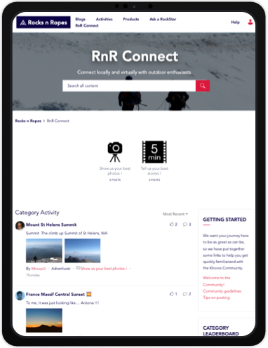 Screenshot options communities